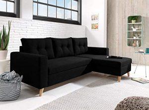 Bestmobilier - Nordic - Canapé scandinave d'angle réversible ..